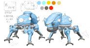 Ghost-in-the-Shell SAC-2045 Tachikoma concept-art