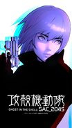 Ghost-in-the-Shell SAC-2045 Wallpaper Motoko-Kusanagi