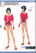 Ghost in the Shell Official Art Book PSOne Version 16