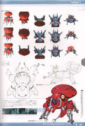 Ghost in the Shell Official Art Book PSOne Version 21