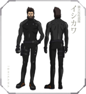 Ghost in the Shell The New Movie Character Design 05