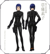 Ghost in the Shell The New Movie Character Design 01