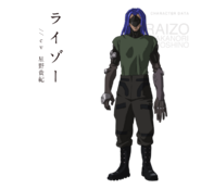 Ghost in the Shell Arise Character Design 11