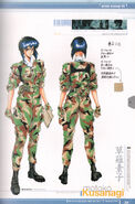 Ghost in the Shell Official Art Book PSOne Version 17