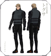 Ghost in the Shell The New Movie Character Design 04