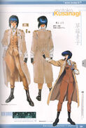 Ghost in the Shell Official Art Book PSOne Version 15
