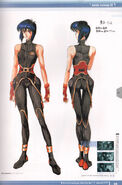 Ghost in the Shell Official Art Book PSOne Version 13