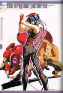 Ghost in the Shell Official Art Book PSOne Version 72