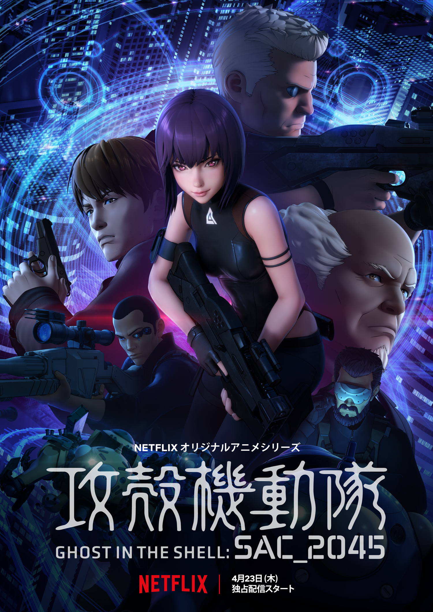 Ghost In The Shell Sac 2045 Ghost In The Shell Wiki Fandom