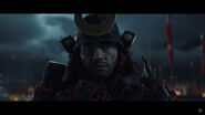 Jin Sakai Samurai Armor close-up
