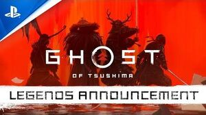 Ghost of Tsushima Legends - Announcement Trailer PS4