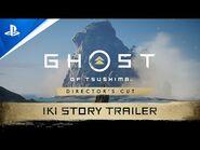 Ghost of Tsushima Director's Cut - Iki Island Trailer - PS5, PS4