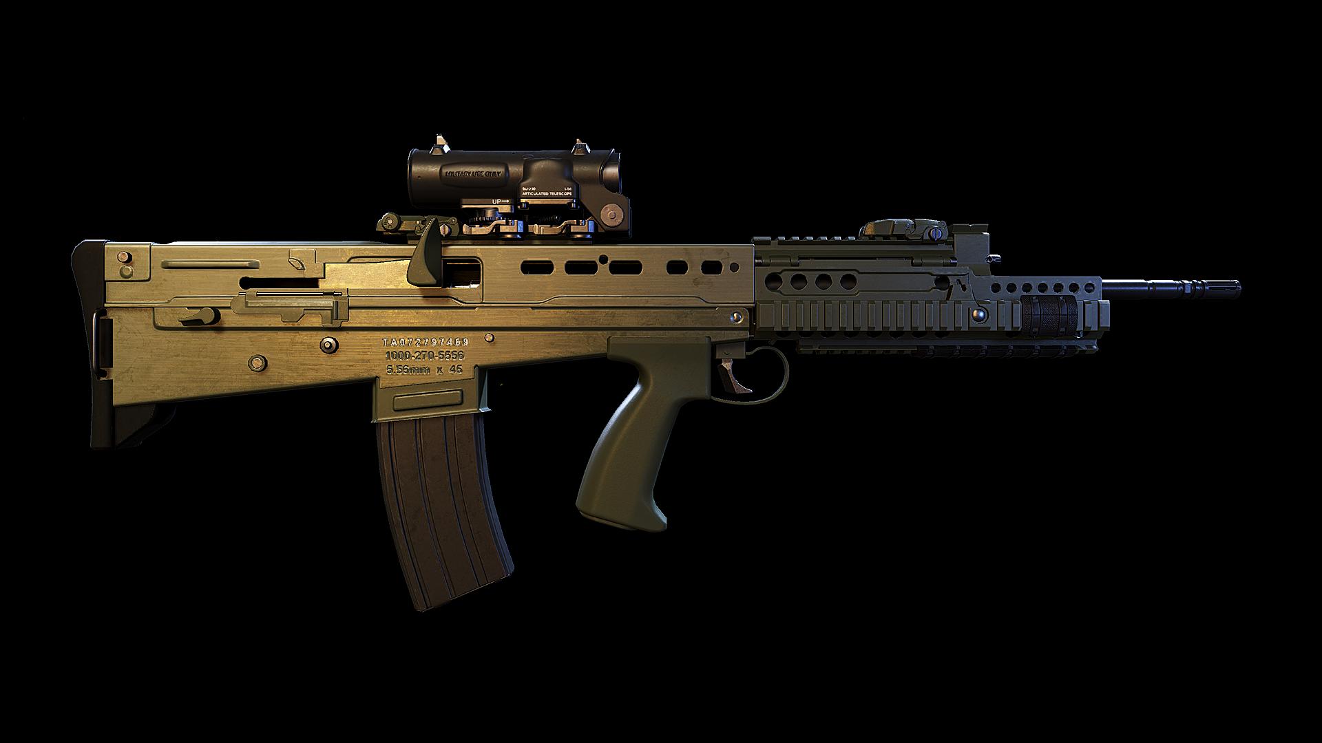 SA-80/Ghost Recon Wildlands