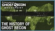 Tom Clancy's Ghost Recon Breakpoint The History of Ghost Recon Ubisoft NA