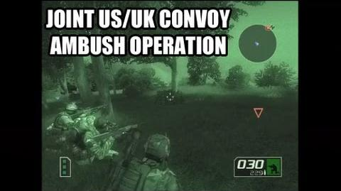 Ghost Recon 2 Campaign - Joint US UK Convoy Ambush Operation