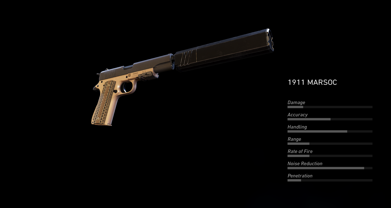 M1911 MARSOC
