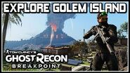 "Ghost Recon Breakpoint How to Explore Golem Island ""Solo"""