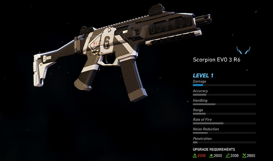 Scorpion EVO 3 R6