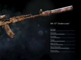AK-47 'Undercover'
