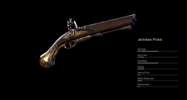 Jackdaw Pistol