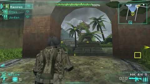 Tom Clancy's Ghost Recon- Predator - M7 Jungle Crashsite