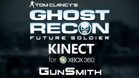 """Ghost Recon Future Soldier - """"Kinect GunSmith"""" Demo Trailer (2012)"""