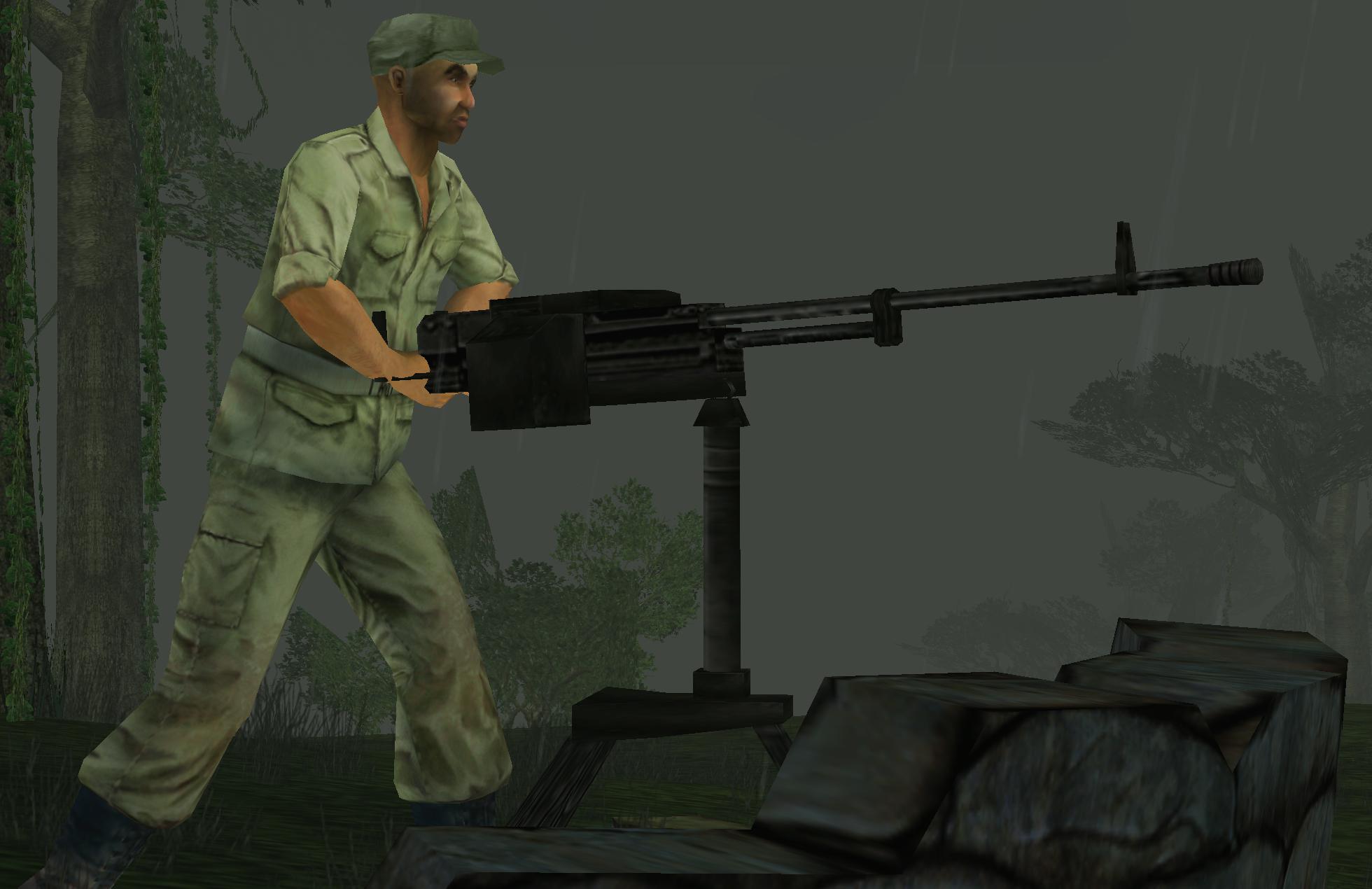 NSV Heavy Machine Gun