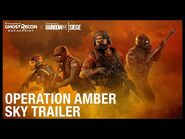 Tom Clancy's Ghost Recon Breakpoint X Rainbow Six Siege- Operation Amber Sky Trailer - Ubisoft -NA-