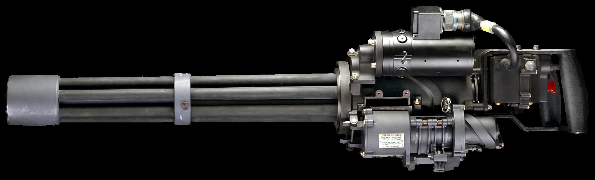 M134 heavy machine gun
