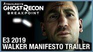Tom Clancy's Ghost Recon Breakpoint E3 2019 Walker Manifesto Ubisoft NA