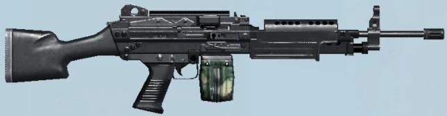 M249 SAW/Ghost Recon Phantoms