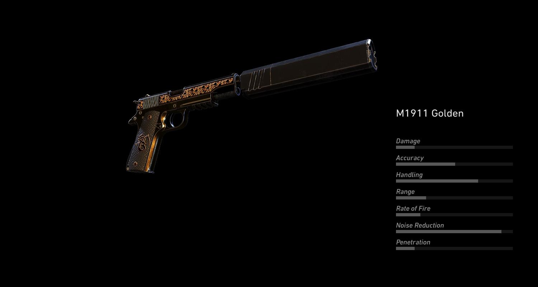 M1911 Golden