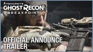 Tom Clancy's Ghost Recon Breakpoint Official Announce Trailer Ubisoft NA