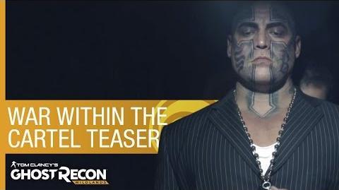 Tom Clancy's Ghost Recon Wildlands Live Action Teaser - War Within The Cartel Trailer Ubisoft NA