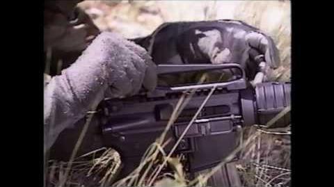 The ORIGINAL Colt M4 Carbine Video 1993-0