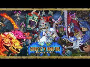Ghosts 'n Goblins Resurrection (Switch) Longplay -415-