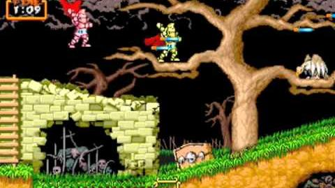 Ghouls n Ghosts gold armor