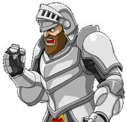 Namco X Capcom Arthur CG
