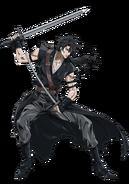 Sensui Kanzaki anime design