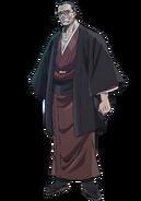 Renjiro Hatonami anime design