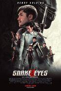 Snake Eyes International Poster