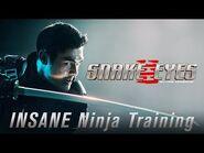 INSANE Ninja Training - Snake Eyes