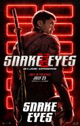 Snake Eyes characters poster 1
