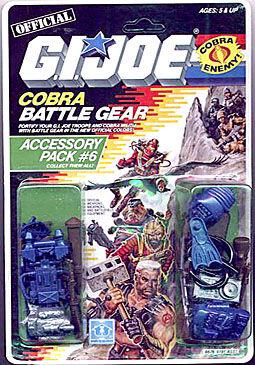 GI Joe 1986 ferraille Remote Activateur Battle Gear Pack accessoires #4