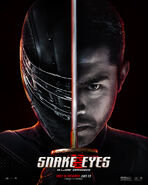 Face and Mask Poster