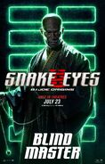 Snake Eyes characters poster 5