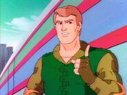 Captain Grid-Iron with no helmet