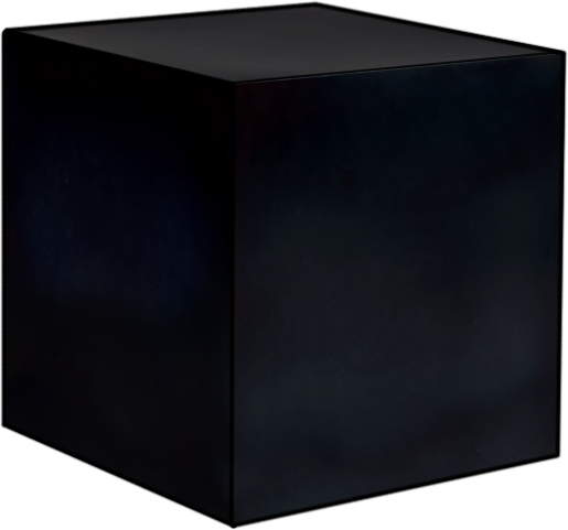 Three Cubes to Darkness