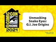 Unmasking Snake Eyes- G.I