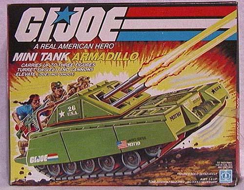 Armadillo mini tank